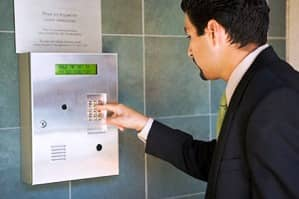 Access control systems for keyless entry and card swipe door and gate controls.